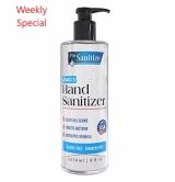 Pro Sanitize Hand Sanitizer Gel, 8oz Pump Bottle, MADE IN USA