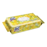 LYSOL® Brand Disinfecting Wipes Flatpacks, 6.75 x 8.5, Lemon and Lime Blossom, 80 Wipes/Flat Pack