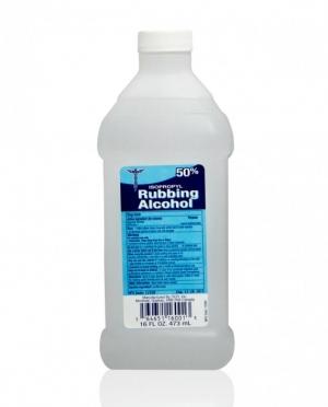 Isopropyl Rubbing Alcohol, 50%, 16oz